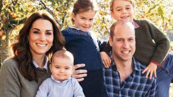 Celebran duques de Cambridge primer año de Luis