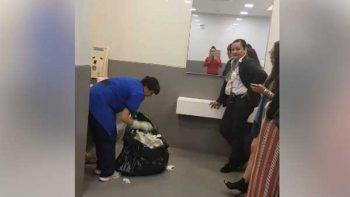 Denuncian humillación a empleada de limpieza en Liverpool en Naucalpan