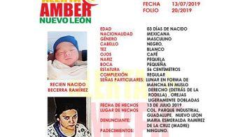 Roban a recién nacida en Guadalupe